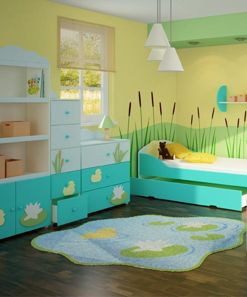 zielony pok j dzieci cy strona 3 projekt pokoju dla dziecka pok j dla dziecka. Black Bedroom Furniture Sets. Home Design Ideas