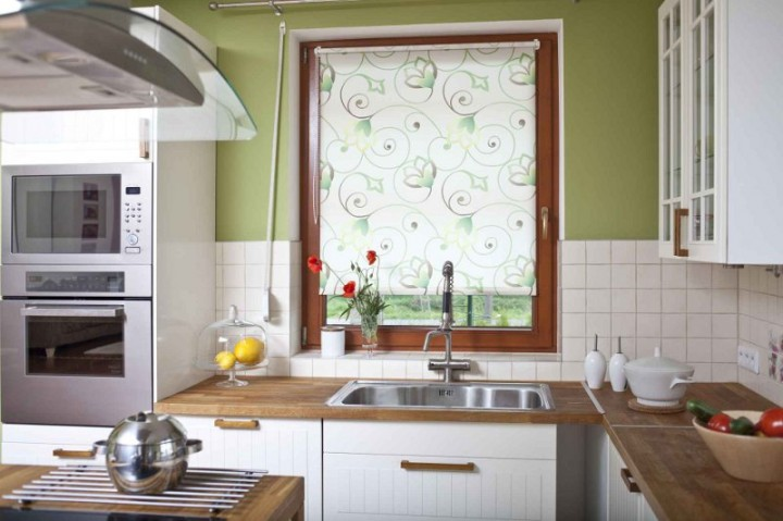 Zdjęcie Czy Zazdrostki W Kuchni Ciągle Są Na Czasie