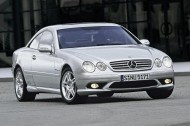 Mercedes CL55 AMG 2002