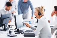 Praca w call center. /Fot. Fotolia