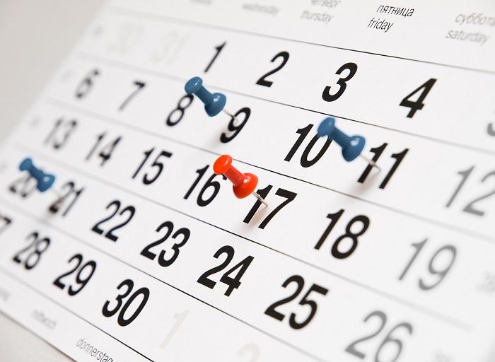 kalendarz, data/ fot. Fotolia