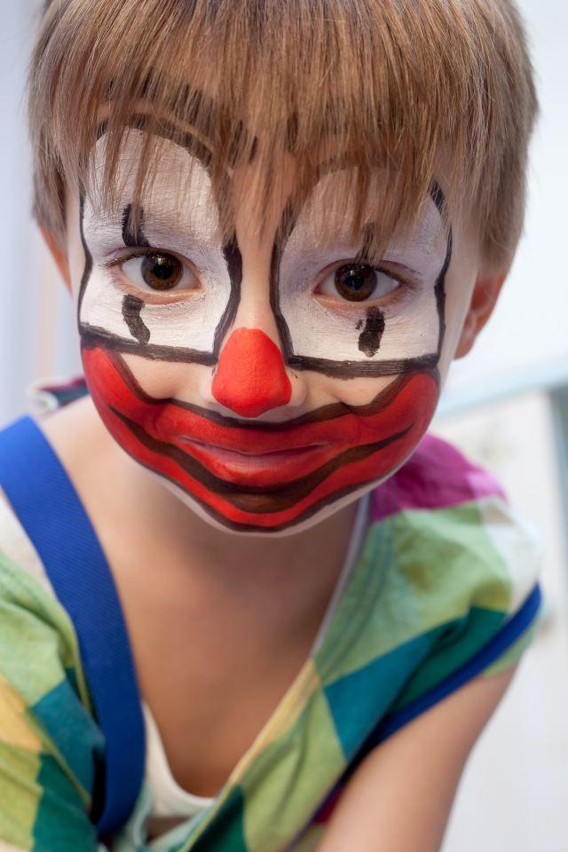 Jak Pomalować Dziecko Na Karnawał Inspirujące Zdjęcia Dodatki I