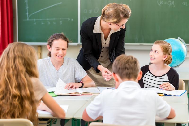 Nauczyciel, szkoła./ Fot. Fotolia